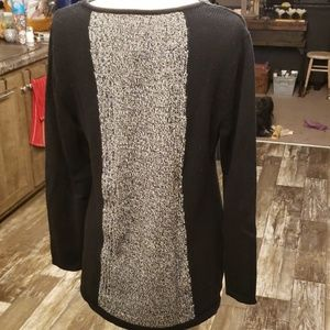 Style & Co Sweaters - Style & Co tunic sweater & scarf set XL